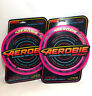 "2x Aerobie Sprint Frisbee Disc Ring Pink Flying Education Classic 10"" Distance"