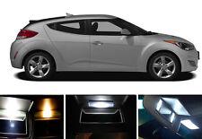 Xenon White Vanity / Sun visor LED light Bulbs for Hyundai Veloster (2 Pcs)