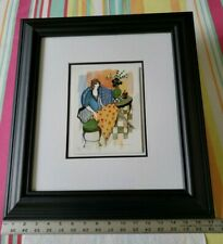 "Itzchak TARKAY DAYTIME DREAMING Serigraph Signed Numbered 8""x 6"" Matted & Framed"