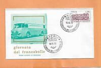 GIORNATA DEL FRANCOBOLLO 1972  NAPOLI  ITALY FDC >