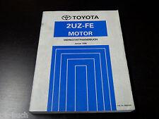 Werkstatthandbuch Motor Toyota Land Cruiser UZJ100 Stand 1998