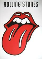 """ROLLING STONES POSTER """"ZUNGE / WEISS"""""""
