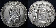21 Batzen 1799, Suisse, Canton Neuchatel. Argent