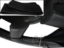 Para Toyota Prius Mk3 09-15 Cuero Negro cubierta del volante Costura Gris Nuevo