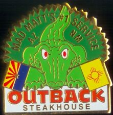 A7021 Outback Steakhouse AZ-NM Mad Matts Croc two flags