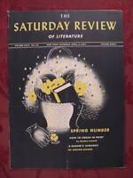 Saturday Review April 5 1941 DONALD CULROSS PEATTIE STEPHEN LEACOCK