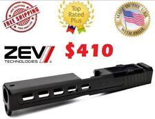 NEW ZEV Tech Technologies Glock 17 Dragonfly GEN 3 DLC Black Stripped RMR Slide