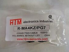 NEW HTM R-MA4KZ/PG7 CONNECTOR M12