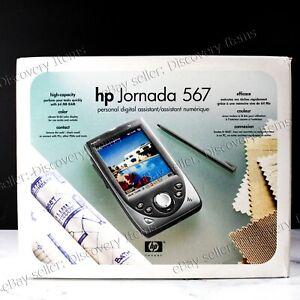 BRAND NEW SEALED Hewlett Packard HP PDA Jornada 567 Pocket PC **FREE CASE!