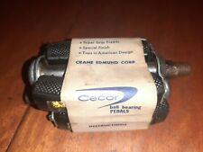VINTAGE CECOR BICYCLE BLACK BALL BEARING RUBBER BLOCK PEDALS NOS!!