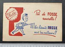 Buvard biscuits Fosse / Femme / Blotter