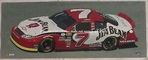 ROBBY GORDON JIM BEAM HARRAHS MENARDS RACING NASCAR NEXTEL CUP 8 X 20 PHOTO