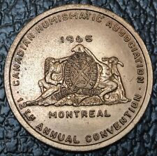 1965 CDN NUMISMATIC ASSOC. MONTREAL - 12th Annual Convention - Huge