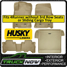 Husky Liners Weatherbeater 2013-16 Toyota 4Runner Floor Mats & Cargo Set TAN