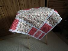 Pram/Pushchair Patch Work Blanket