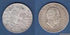 Italie Italia - 5 Lire Vittorio Emanuele 1874 M Milan (2) - Argent Silver