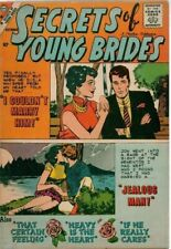 Secrets of Young Brides #16  Charlton  Comics 1959 Very Nice Rare Comic