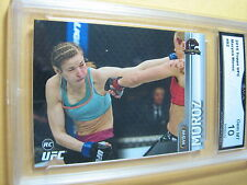 MARYNA MOROZ 2015 TOPPS UFC CHAMPIONS ROOKIE RC # 82 GRADED 10   L@@@K