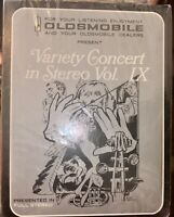 SEALED 1974 OLDSM 8-TRACK TAPE VARIETY CONCERT IN STEREO VOL. IX 9 NEW LOOK