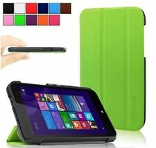 Infiland Tri-Fold Leather Case for HP Stream 7 Tablet Black Case
