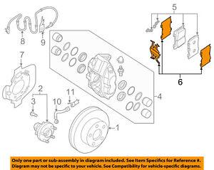 NISSAN OEM Brake-Front-Hardware Kit D1080JL00A