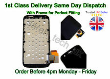 Motorola MOTO G 1st Gen LCD Screen Touch Digitizer Assembly With Frame Black