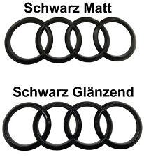 Audi Ringe Schwarz Emblem Hinten A4 RS4 B5 8D B6 8E B7 B8 B9 Quattro SLine Avant