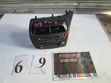 Honda civic type r fn2 genuine mp3 stereo cd player surround dash vents