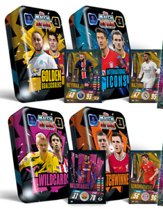 2020/21 Match Attax Choose your sealed Tins - Mini, Mega, Mini Collector Packs