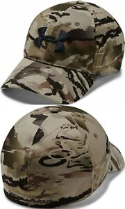 NWT Under Armour Men's Whitetail Stretch Fit Hat Cap Camo Hunting