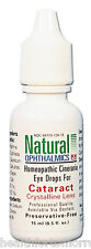 Natural Ophthalmics Inc Cataract With Cineraria Eye Drops 0.5 oz
