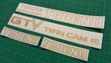 Toyota Sprinter Trueno GTV Cam 16 AE86 Decals Stickers restoration