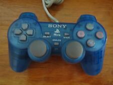 Sony PS1 Playstation1 Analog Wired Controller Blue