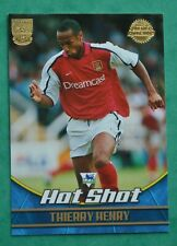 Thierry Henry-Arsenal HOT SHOT Nº A3 Topps P//Liga de Oro 2002