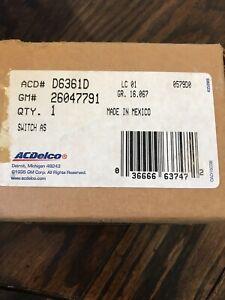 AC Delco # D6361D Windshield Wiper Switch (Fits 1995 Chevy Astro and GMC Safari)