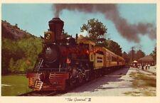 """STONE MOUNTAIN SCENIC RAILROAD'S replica locomotive """"GENERAL"""" II"""