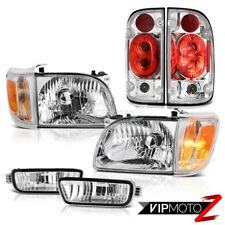2001-2004 Toyota Tacoma 4WD Clear chrome taillights headlights bumper Assembly