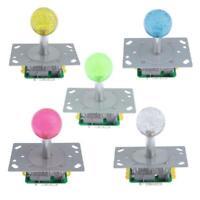LED llluminated Joystick Arcade Game Replacement 2 Signal Output Terminal