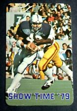1979 NORTHWESTERN FOOTBALL SCHEDULE CARD BY QUINLAN AND TYSON REALTORS