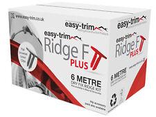 Easy Trim Ridge F Plus Kit Universal Roll Out Dry Ridge System 6m Black
