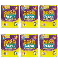 168 Pannolini PAMPERS PROGRESSI Pannolini Bambini taglia 3 Midi 4-9 kg NUOVI