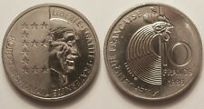 10 Francs Schuman Père de l'Europe 1986, SPL !!