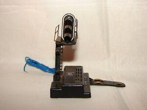 ECHELLE HO MONOBLOC AVEC SIGNAL JOUEF 9351 TRAIN ELECTRIQUE