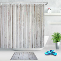 Forester/'s Cabin by the River Shower Curtain Bathroom Waterproof Polyester 71/'/'