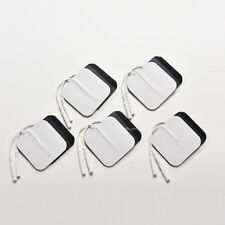 20 Replacement Pads for Massagers/Tens Units Electrode Pads White Cloth 5x 5cm!~