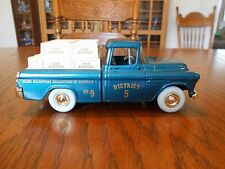 Vintage 1994 Ertl 1/24 Chevrolet Cameo District 5 Pickup Truck Bank LE 1 of 500