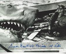 Jaws 1st Victim autographed 8x10 photo Shark on Boat Bonus of signing