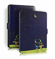 Tasche für Amazon Kindle Paperwhite 3 2 1 Hülle Etui Case Cover Skin Shelter W62