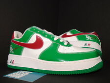 2005 Nike Air Force 1 MR. CARTOON CINCO DE MAYO GREEN WHITE RED 306146-131 NEW 9