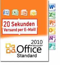 Microsoft Office 2010 Standard Key MS Office 2010 Standart Version Complète Allemand